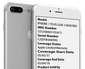 FREE iPhone CARRIER / WARRANTY Check - news image on imei.info