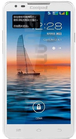 CoolPAD 5950 image on imei.info