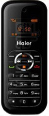 HAIER W160 image on imei.info