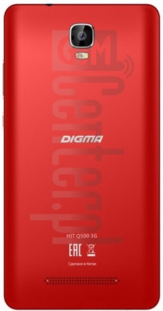 IMEI Check DIGMA Hit Q500 3G on imei.info