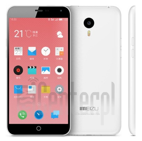 MEIZU M1 Charm Blue image on imei.info
