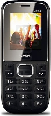 LAVA ARC4 image on imei.info