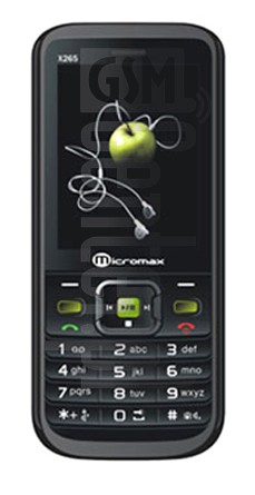 MICROMAX X265 image on imei.info