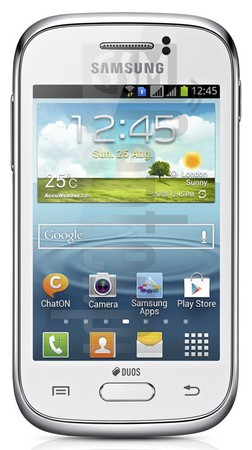 SAMSUNG S6310 Galaxy Young image on imei.info