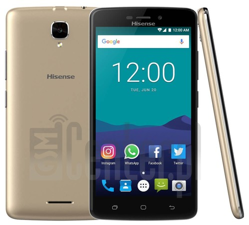 IMEI Check HISENSE T5 Plus on imei.info