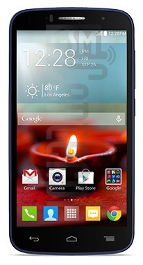ALCATEL OneTouch Fierce 2 image on imei.info