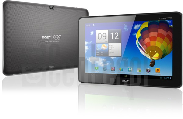 ACER A510 Iconia Tab image on imei.info
