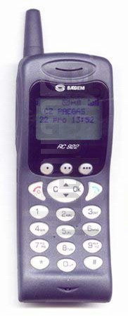 SAGEM RC 922 image on imei.info