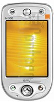 ORANGE SPV M1500 (HTC Alpine) image on imei.info