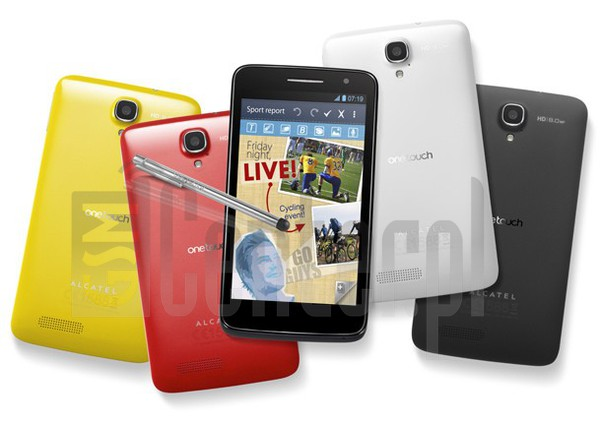 ALCATEL OT-8008D One Touch Scribe HD image on imei.info