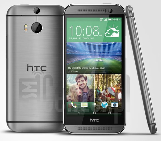 HTC One M8 Dual SIM image on imei.info