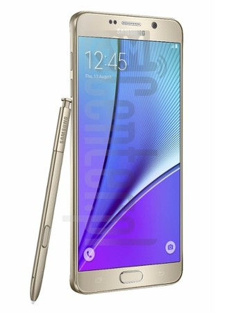 SAMSUNG Galaxy Note5 image on imei.info