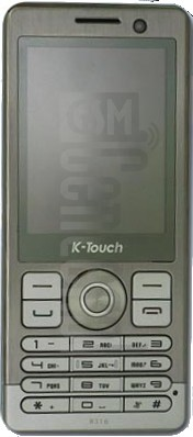 K-TOUCH W316 image on imei.info