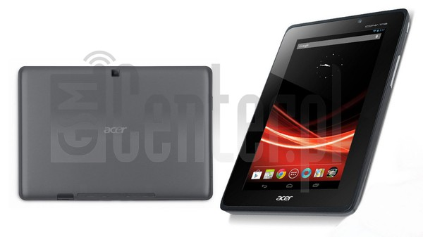 ACER A110 Iconia Tab image on imei.info
