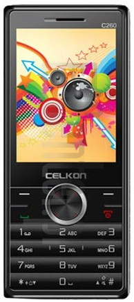CELKON C260 image on imei.info