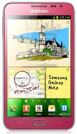SAMSUNG E160L Galaxy Note image on imei.info
