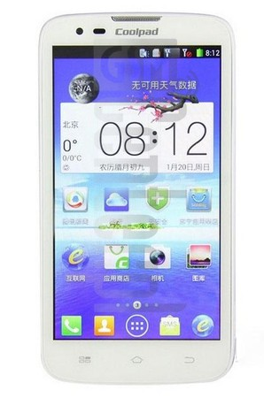 CoolPAD 5879 image on imei.info