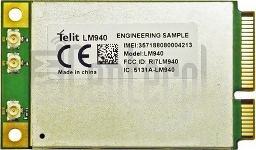 IMEI Check TELIT LM940 on imei.info