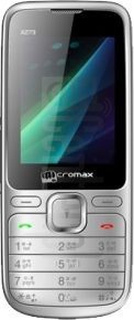 MICROMAX X273 image on imei.info
