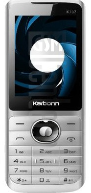 KARBONN K707 SPY II image on imei.info