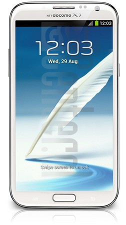 SAMSUNG SC-02E Galaxy Note II image on imei.info