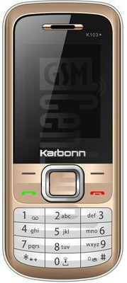 KARBONN K103 STAR image on imei.info