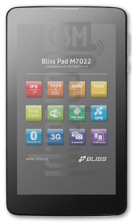 BLISS Pad M7022 image on imei.info