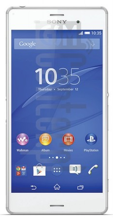 SONY Xperia Z3 D6616  image on imei.info