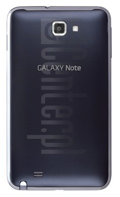 SAMSUNG i717 Galaxy Note 4G image on imei.info