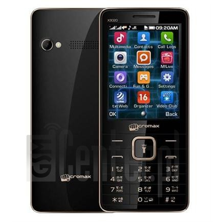 MICROMAX X3020 image on imei.info