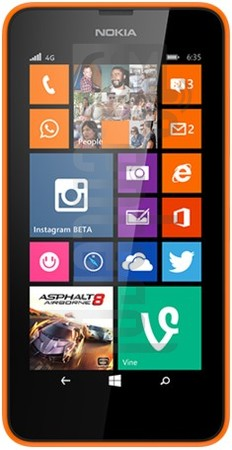 NOKIA Lumia 630 image on imei.info