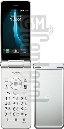 SHARP Aquos Mobile2 602SH image on imei.info
