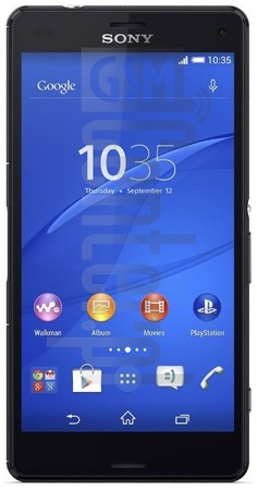 SONY Xperia Z3 Compact D5833 image on imei.info
