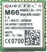IMEI Check QUECTEL M66 on imei.info