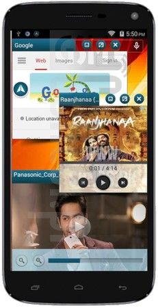 PANASONIC P41 image on imei.info