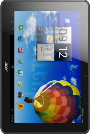 IMEI Check ACER A510 Iconia Tab on imei.info