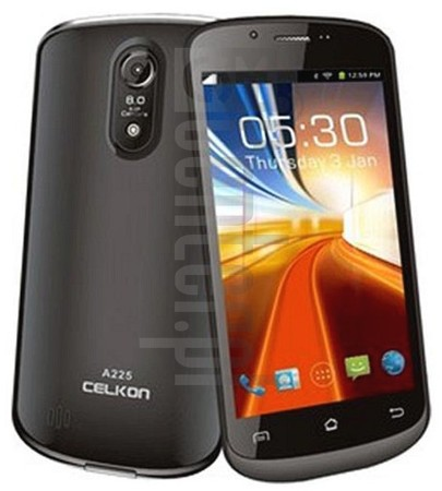 CELKON A225 image on imei.info