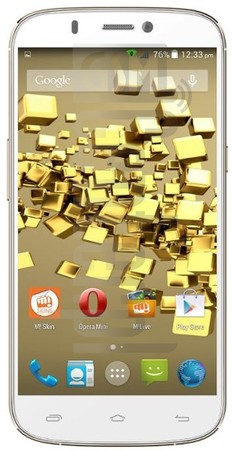 MICROMAX A300 Canvas Gold image on imei.info