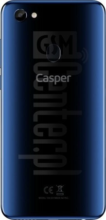 IMEI Check CASPER Via G3 on imei.info