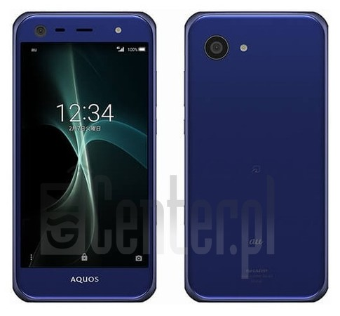 SHARP Aquos Serie Mini SHV38 image on imei.info