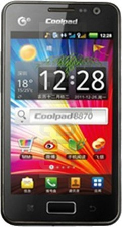 CoolPAD 8870 image on imei.info