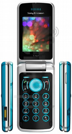 SONY ERICSSON T707 image on imei.info