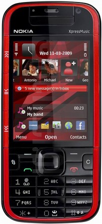 NOKIA 5730 XpressMusic image on imei.info