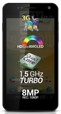 ALLVIEW P6 Quad Plus image on imei.info