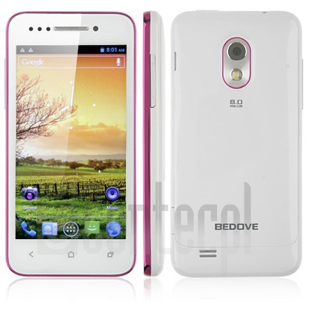 BEDOVE X12 image on imei.info