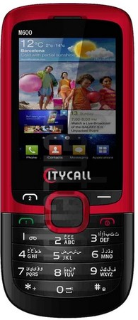 IMEI Check CITYCALL M600 on imei.info