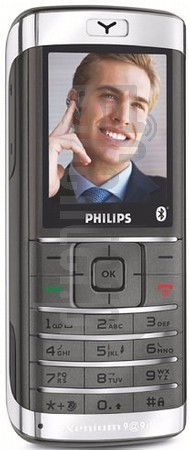 PHILIPS Xenium 9@9d image on imei.info