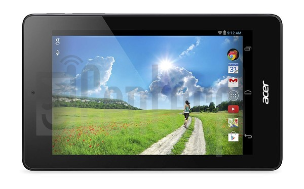 ACER Iconia One 7 B1-730HD image on imei.info