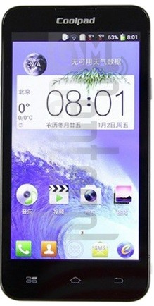 CoolPAD 7269 image on imei.info