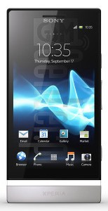 SONY Xperia P LT22  image on imei.info